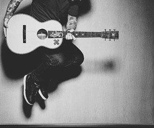 ed sheeran, guitar, and music image