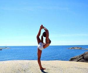 summer, beach, and fitness image