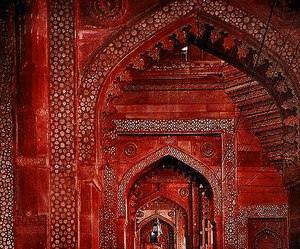 red and india image