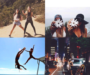 best friends, crazy, and funny image