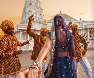 india, travel, and jaipur image