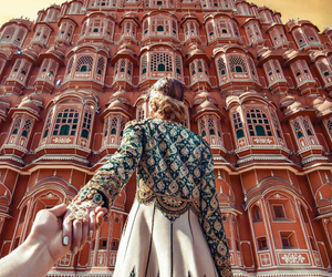 india, travel, and couple image