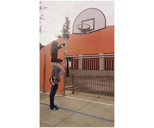 Basketball, beautiful, and boy and girl image