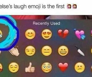 funny, iphone, and favorite emoji image