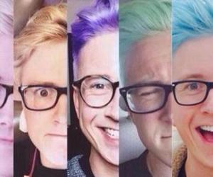 tyler, hair, and oakley image