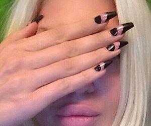 fashion, nail polish, and beauty image