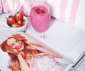 strawberry, lauren conrad, and book image