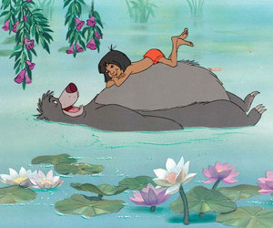 disney, the jungle book, and bear image
