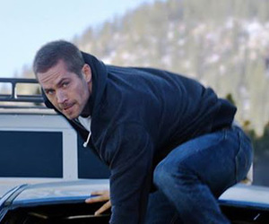 paul walker and in action image