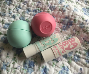 eos, pink, and sweet image