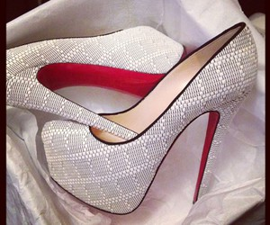 shoes, louboutin, and heels image