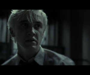 scared, malfoy, and draco image