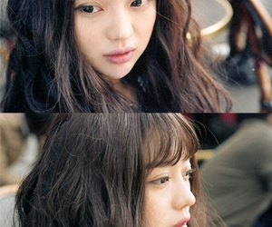 bangs, chubby, and curls image