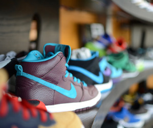 nike, photography, and shoes image