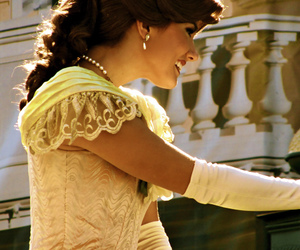 beauty and the beast, belle, and mickey mouse image