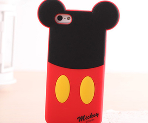 black, case, and mickey image
