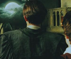 azkaban, hermione, and hogwarts image