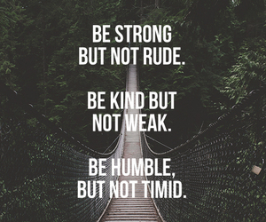 quotes, strong, and humble image