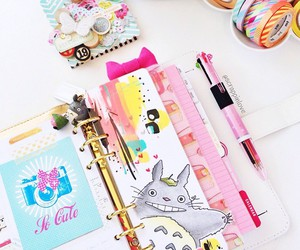 planner and totoro image