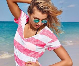 beach, Victoria's Secret, and rachel hilbert image