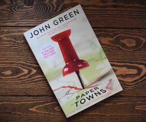john green, paper towns, and cara delevingne image