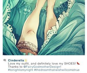 cinderella, disney, and instagram image