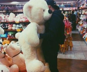 boy, love, and bear image