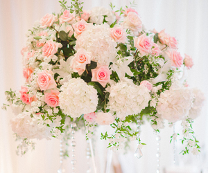 centerpiece, centerpieces, and flowers image