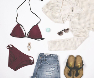 clothes, fashion, and sandals image