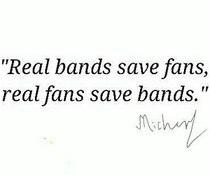 band, fans, and people image