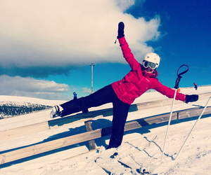 Skiing, snow, and salen image