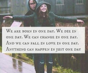 one day, if i stay, and quote image