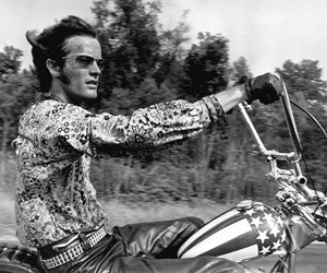 1960s, Easy Rider, and hippies image