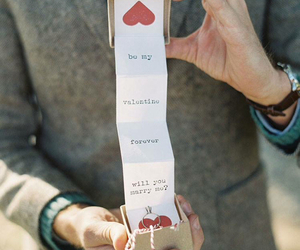 couple, proposal, and wedding image