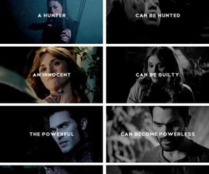 allison, teen wolf, and stiles image