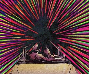 lsd, car, and drugs image
