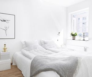 bedroom, house, and home image