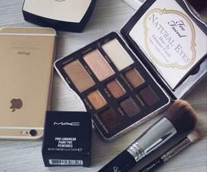 makeup, mac, and iphone image