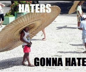 funny and hat image
