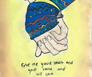 pierce the veil, ptv, and heart image