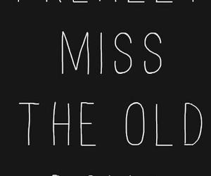 old, sad, and days image