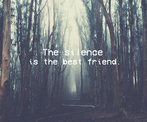 silence, wallpaper, and alone image