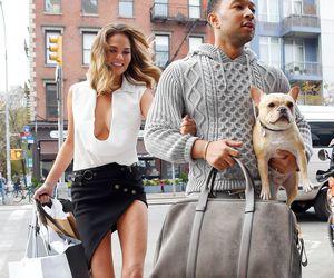 fashion, chrissy teigen, and couple image