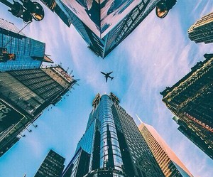 city, sky, and travel image