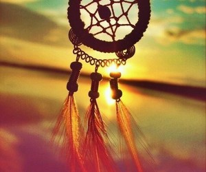 color, dreamcatcher, and peace image