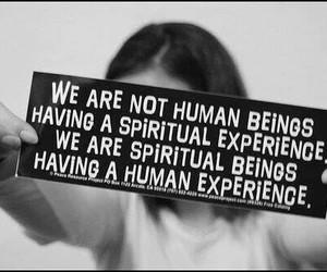 quotes, human, and spiritual image