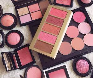 blush, pink, and eyeshadow image