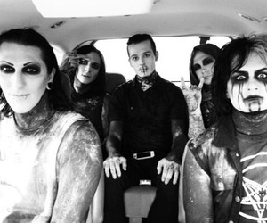 motionless in white, chris motionless, and devin sola image