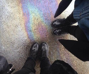 dr martens, grunge, and pale image