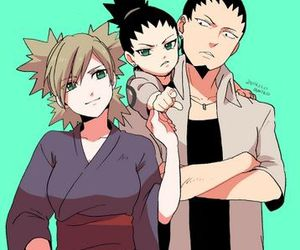 temari, shikamaru, and naruto image